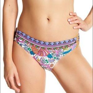 Trina Turk Swim - Trina Turk Jungle Beach Metal Bikini Bottoms